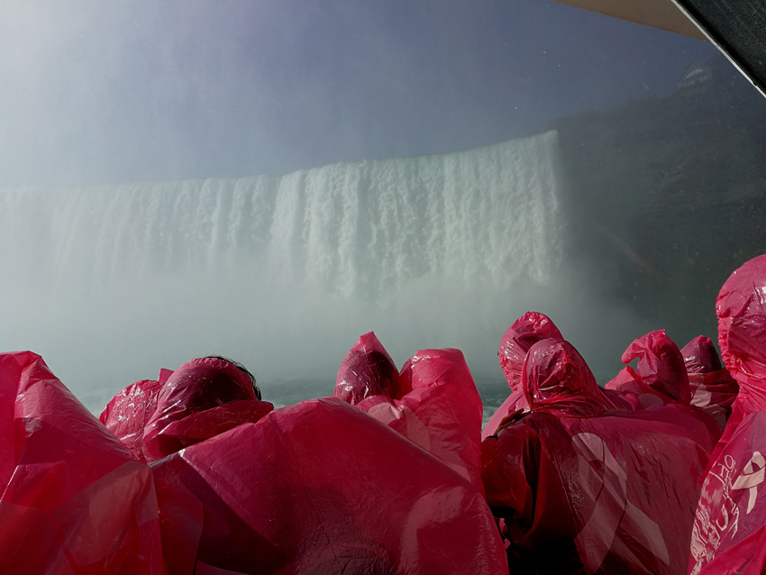 10.10.2019, niagara falls, usa. maid of the mist