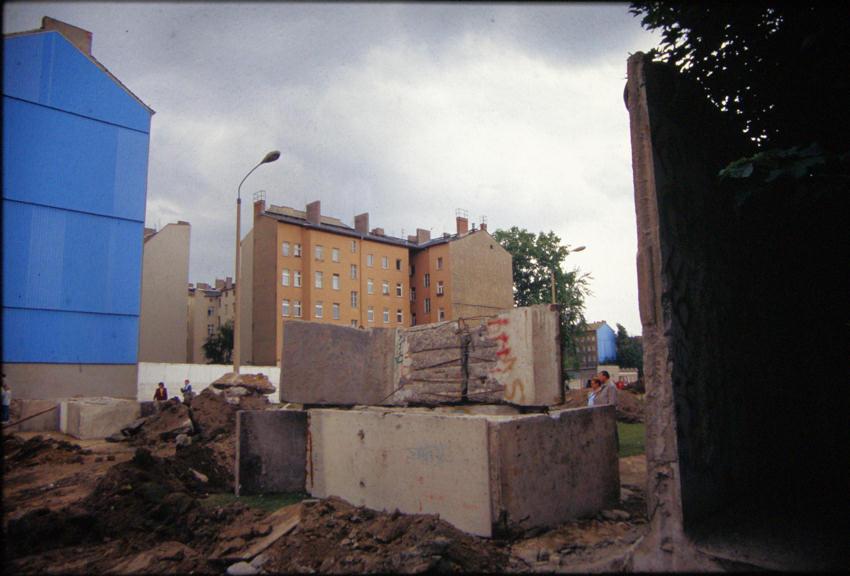 Bernauer Straße.