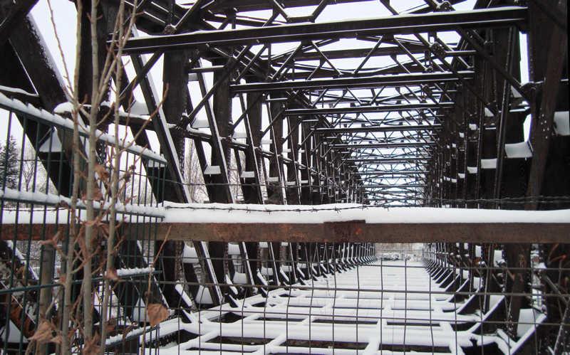 Ende des Weges. Liesenbrücken